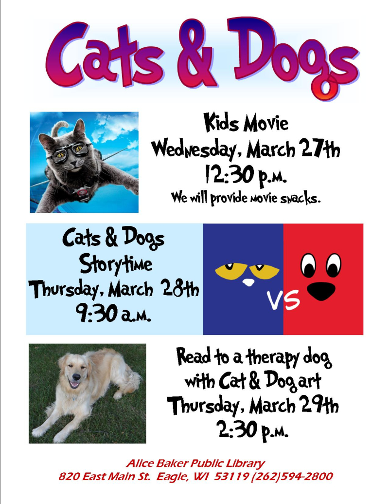 Cats & dogs programs