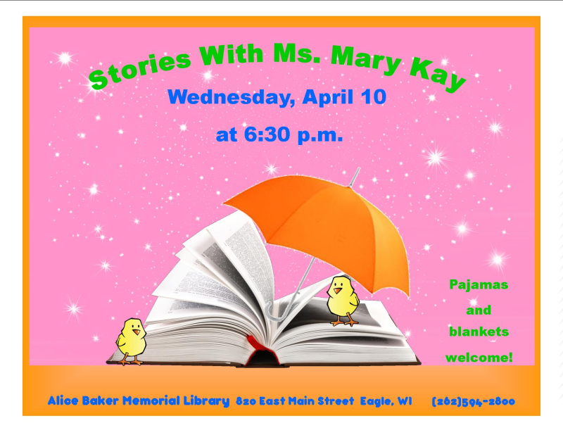 Stories with Mary Kay April
