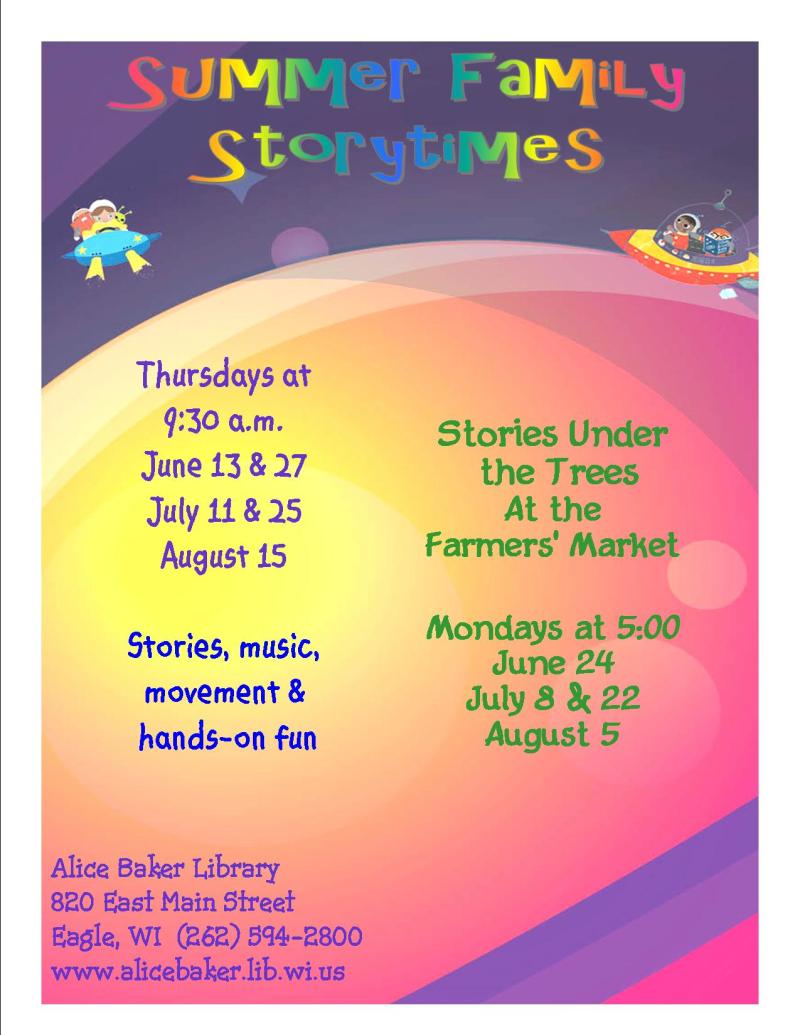 Summer storytime