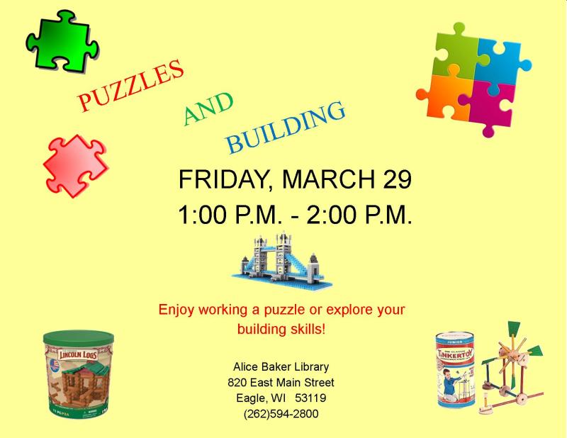 Puzzle Building MAR 2019
