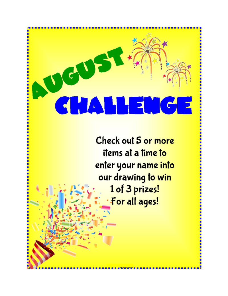 August challenge 2019