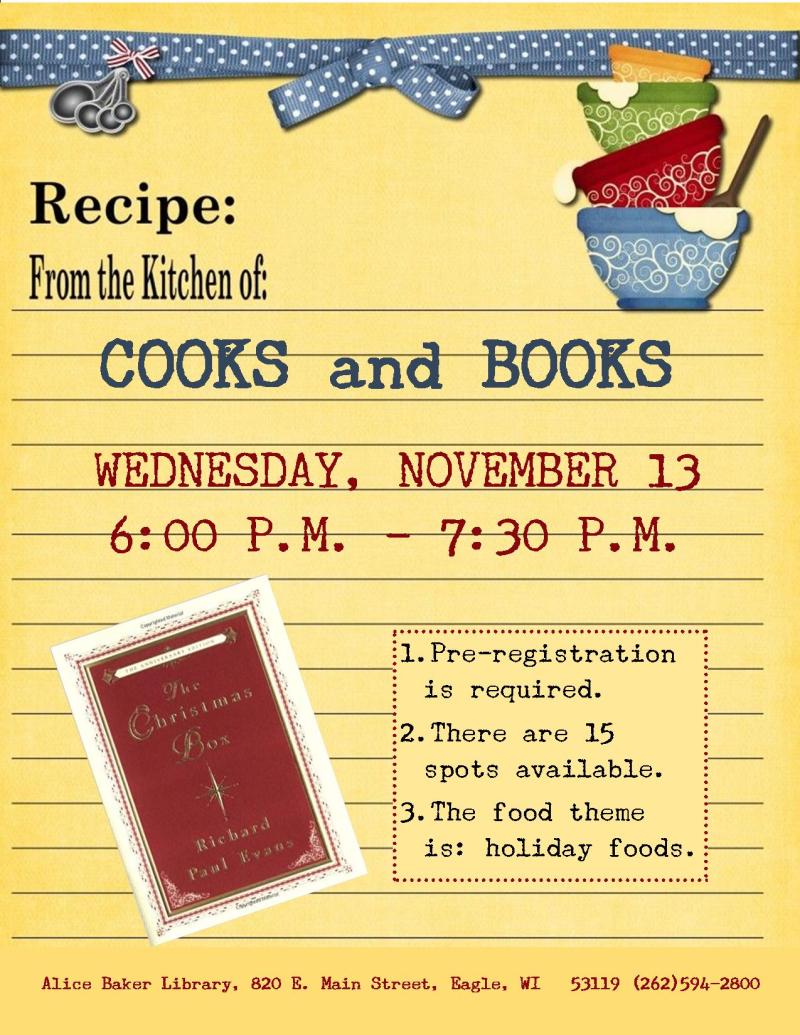 Cooks and Books - Christmas Box