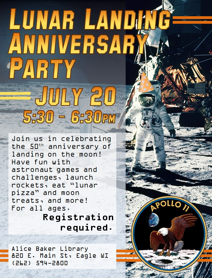 Lunar Landing Anniversary Party