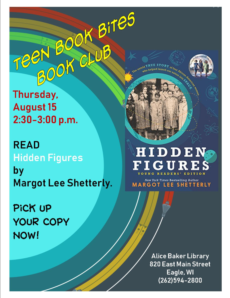 Teen book bites august