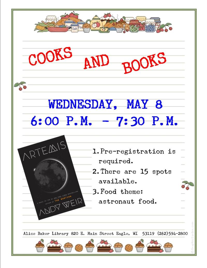 Cooks and Books - ARTEMIS