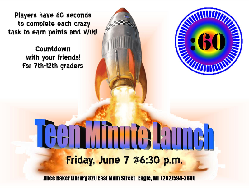 Minute challenge teen launch