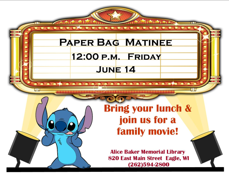 Paper bag matinee june