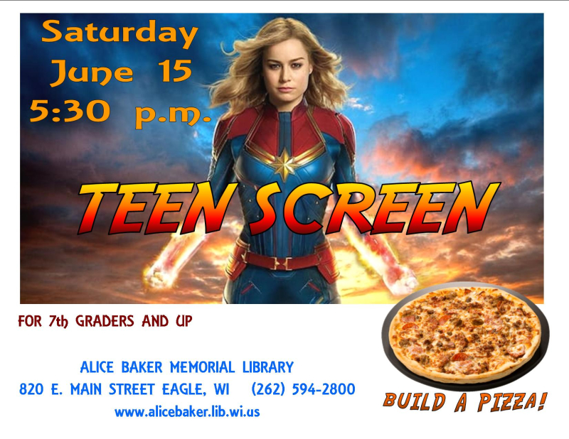 Teen screen june