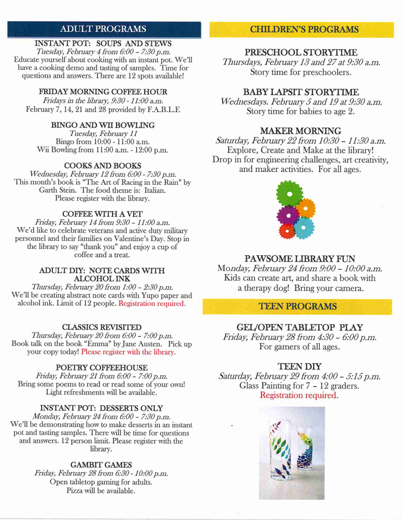 02 - Newsletter February 2020 page 2