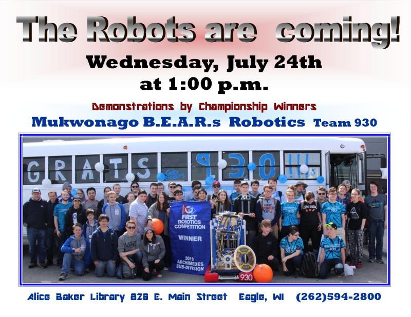 Robots are coming!