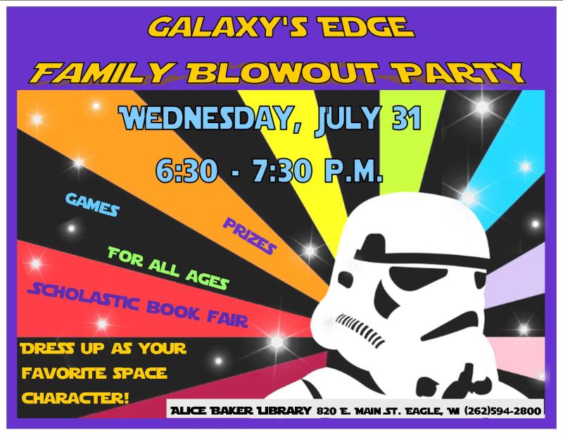 Galaxy blowout finale