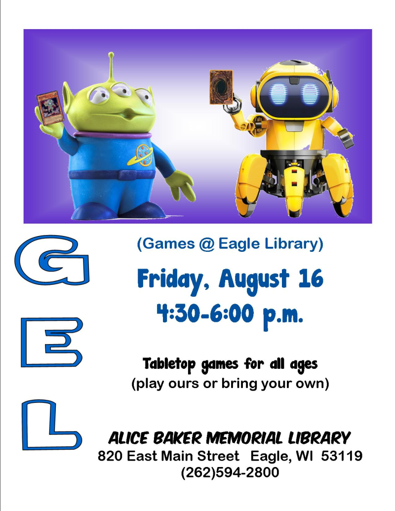 GEL open games august