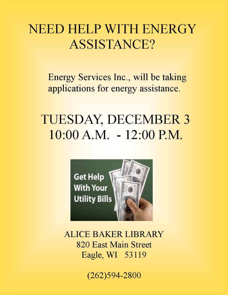 Energy Assistance 2019