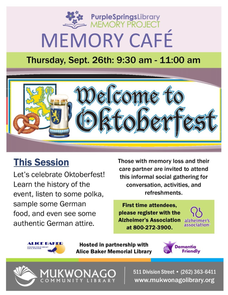 Thumbnail_Memory cafe - Oktoberfest- poster
