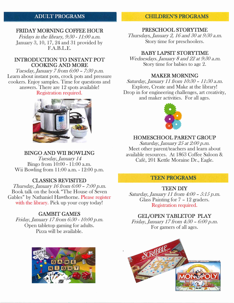 January 2020 library newsletter page 2