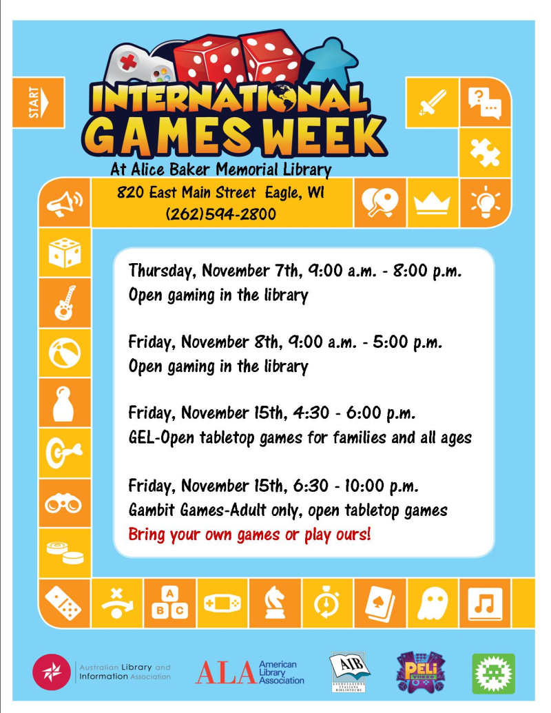 International games week 19