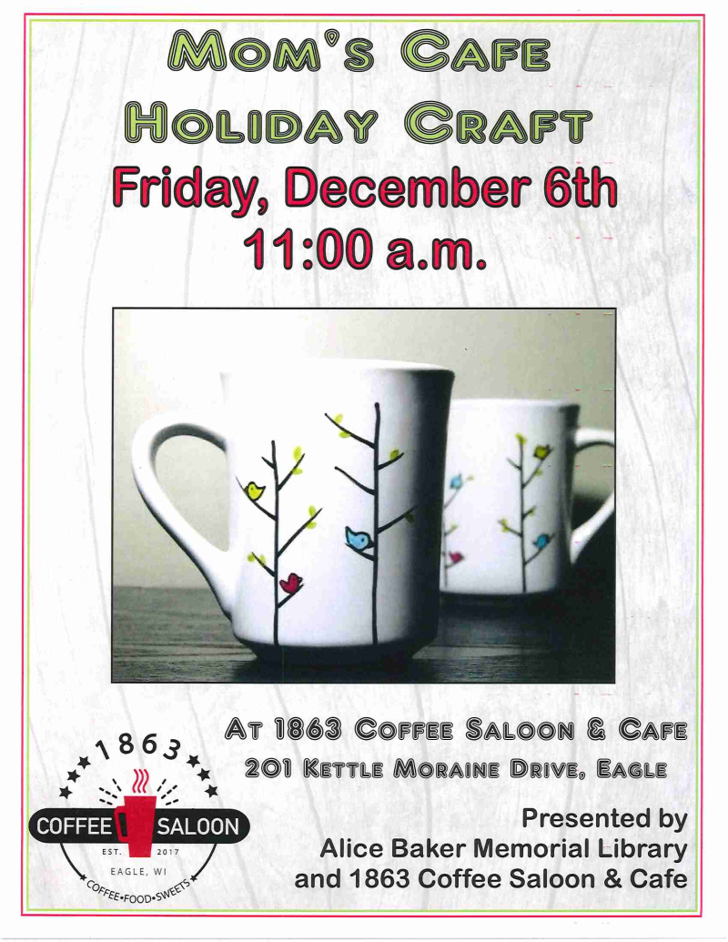 Mom's Cafe Holiday Craft