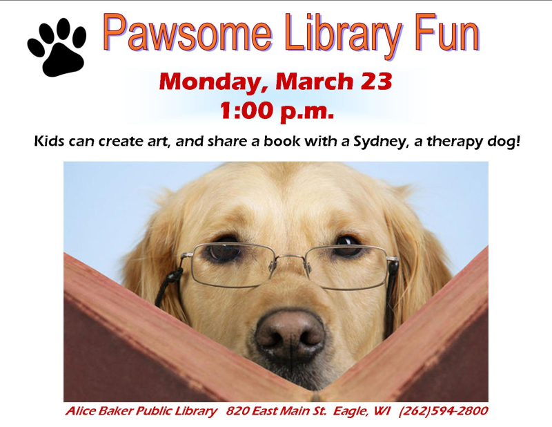 Art and read with the dog  sydney