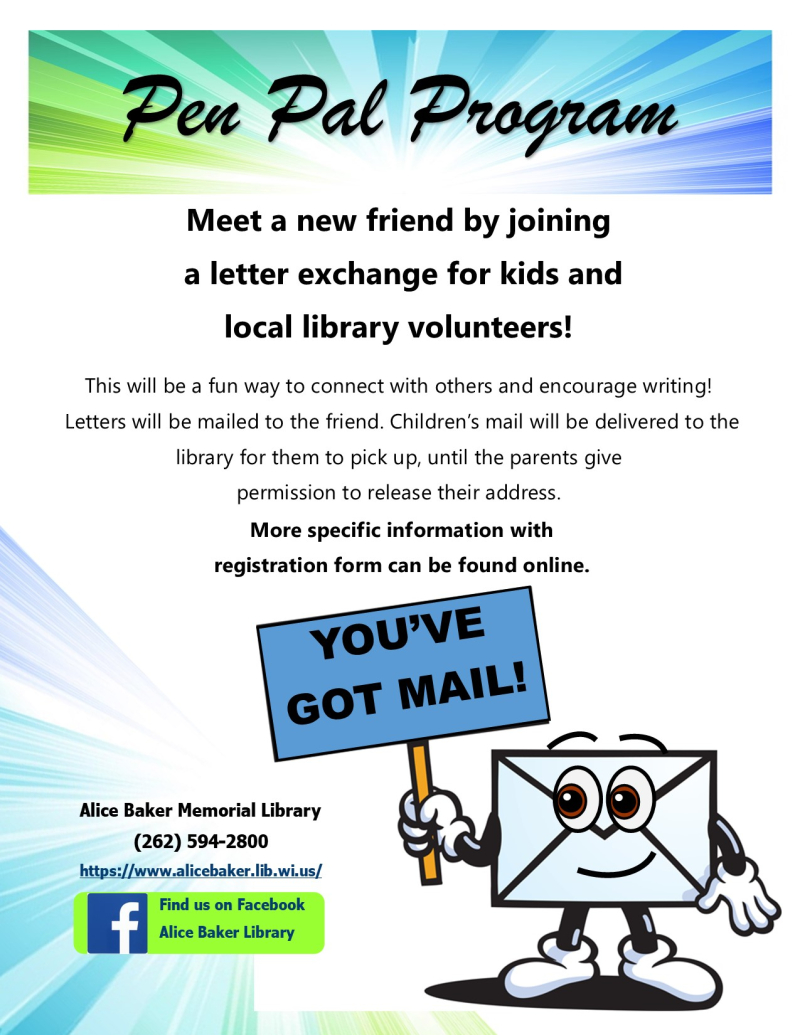 Pen pals program