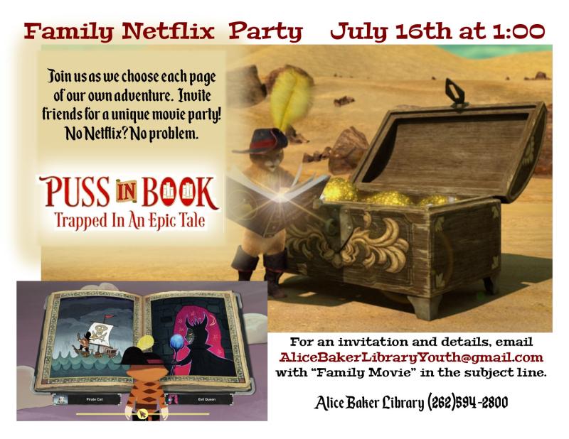 Family Netflix Party July