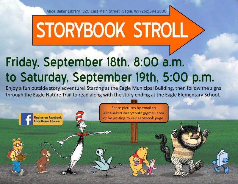Storybook stroll september