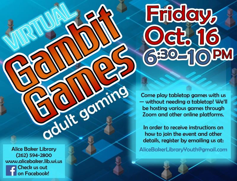 Virtual Gambit Games (2020-10-16)