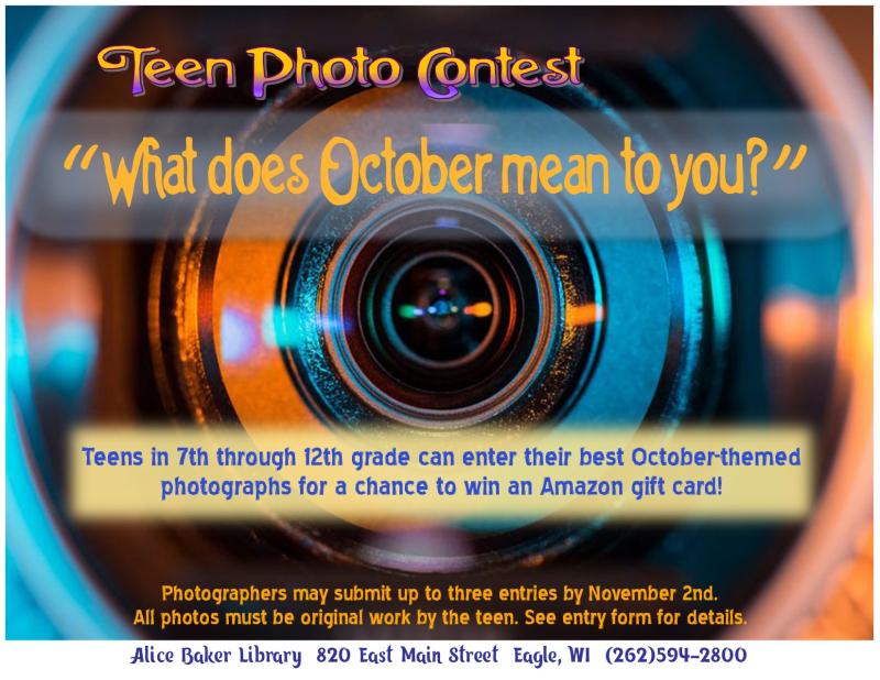 Teentober photo contest