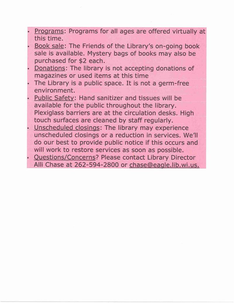 Page 2 Covid-19 Protocols