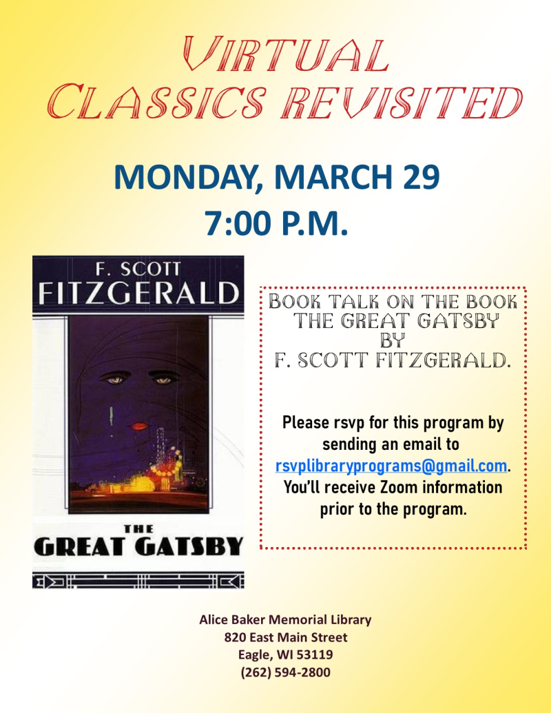 Classics Revisited - Great Gatsby