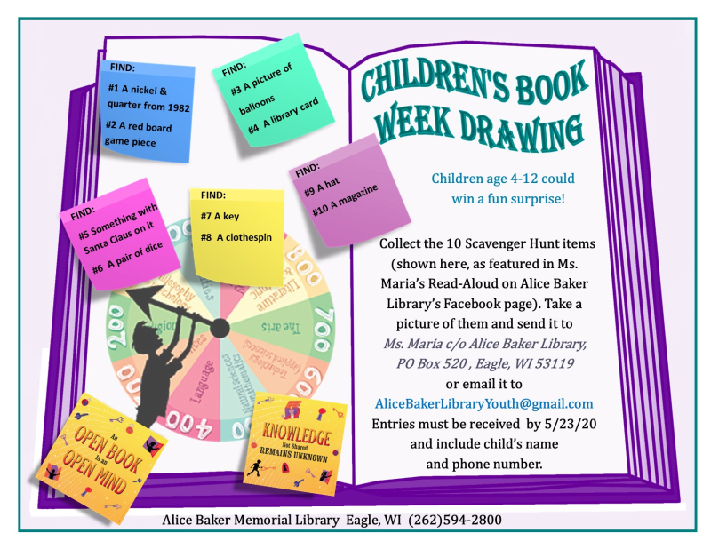 Children's book week drawing