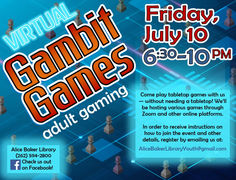 Virtual Gambit Games (2020-7-10)