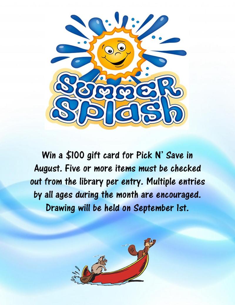 Summer splash - august 2020