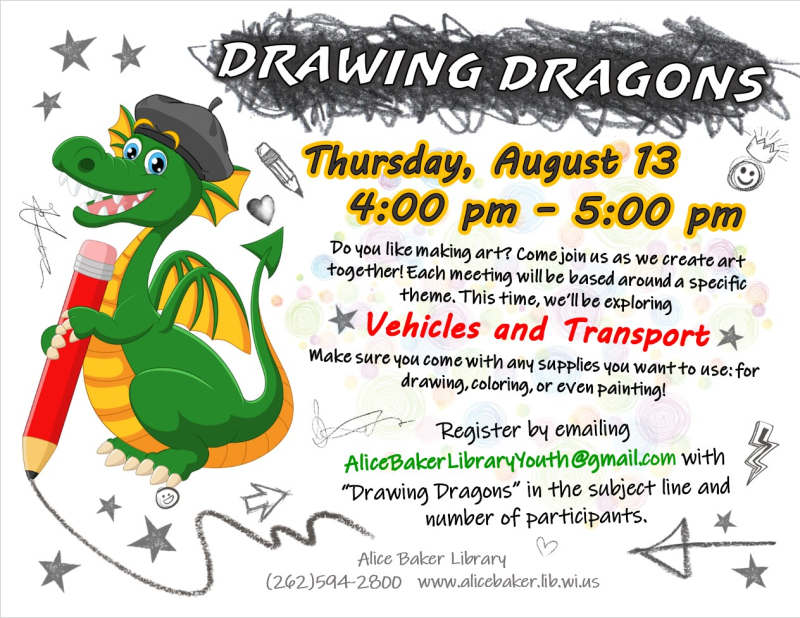 Drawing Dragons (2020-8-13)