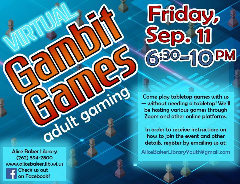 Virtual Gambit Games (2020-9-11)