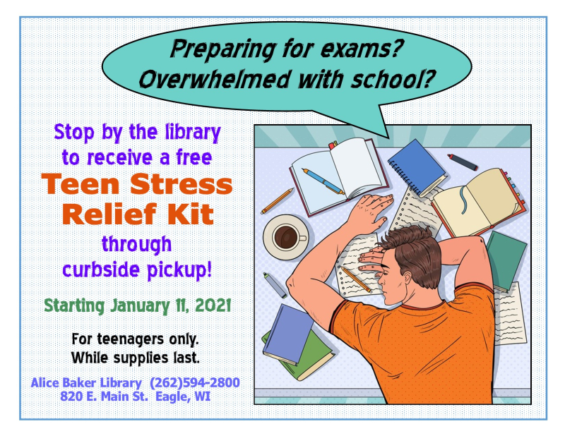 Teen stress relief kits