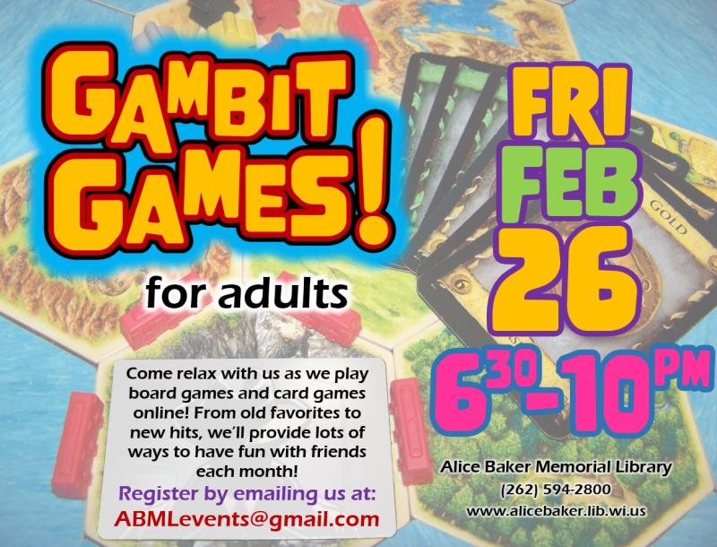 Gambit Games (2021-2-26)