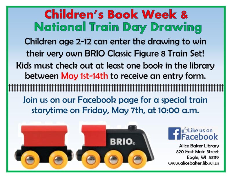 Book week train day drawing