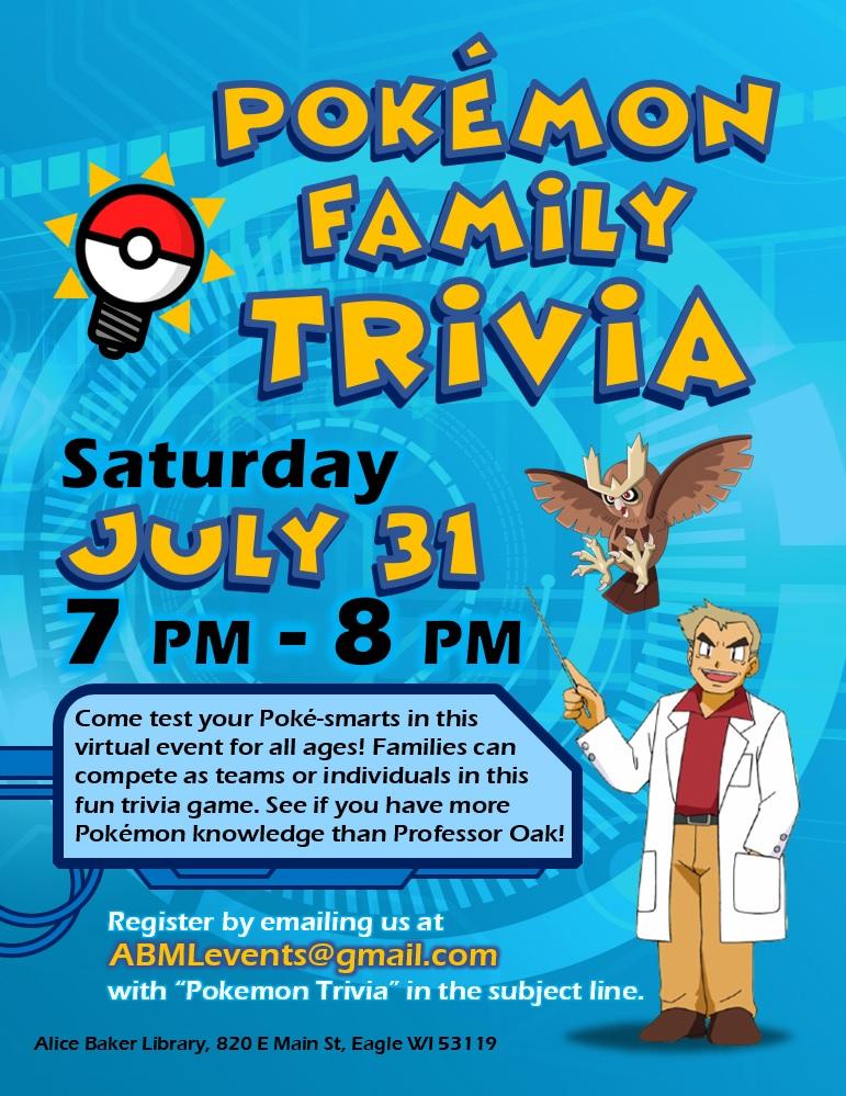 Pokémon Family Trivia