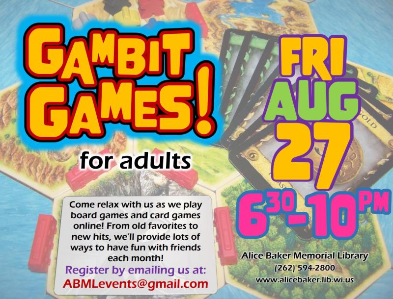 Gambit Games (2021-8-27)