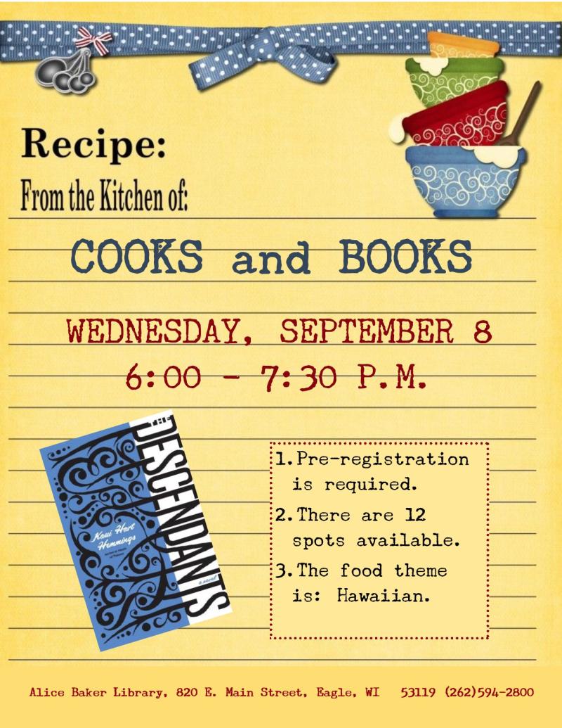 Cooks and Books - Descendants