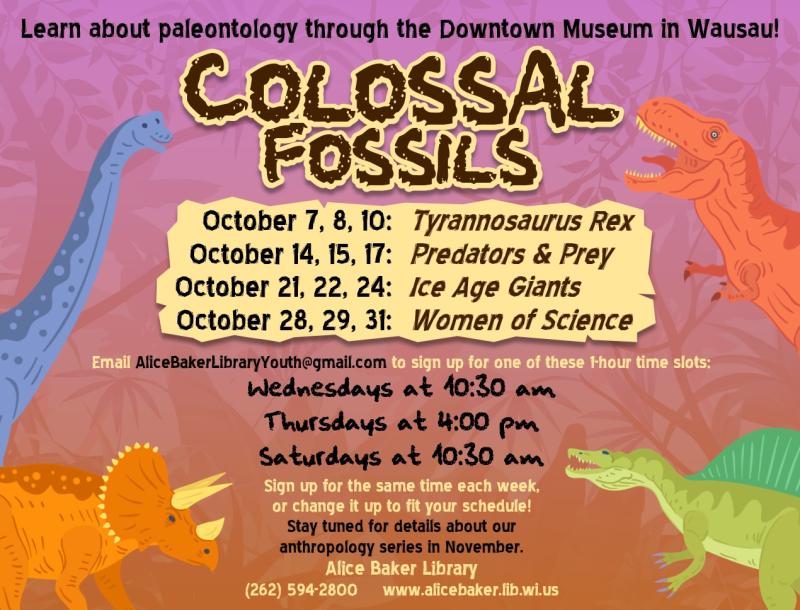 Colossal Fossils (paleontology)