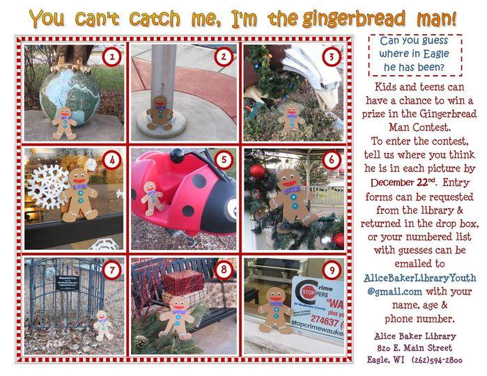 Gingerbread Man Contest