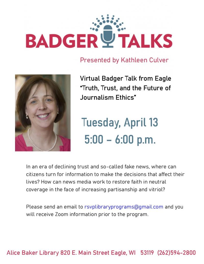 Badger Talks