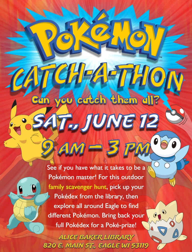 Pokemon Catch-A-Thon