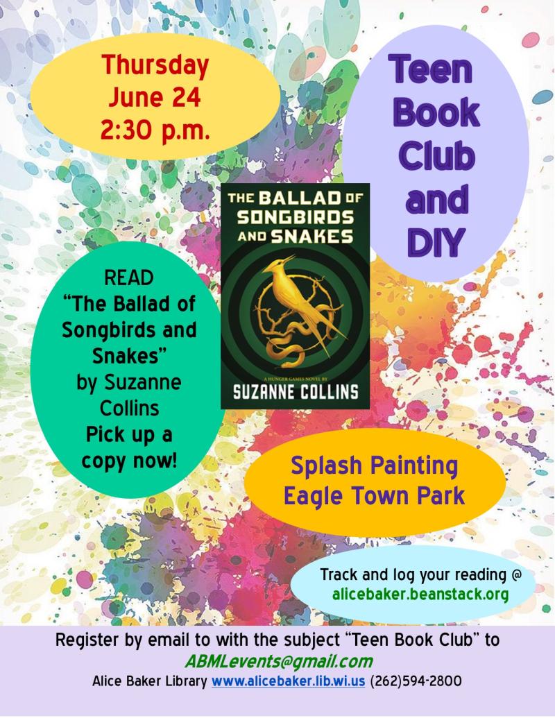 Teen Book Club & DIY June.pub
