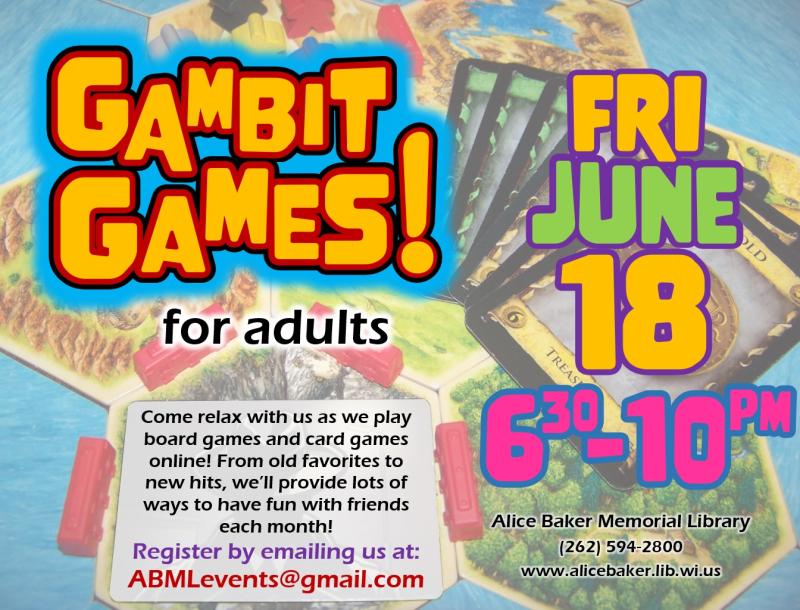 Gambit Games (2021-6-18)