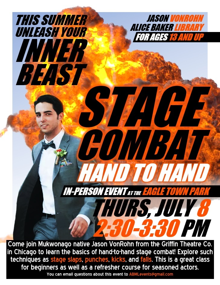 Stage Combat - Hand to Hand