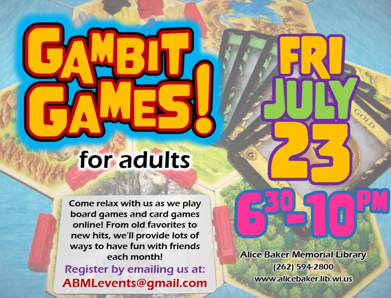 Gambit Games (2021-7-23)