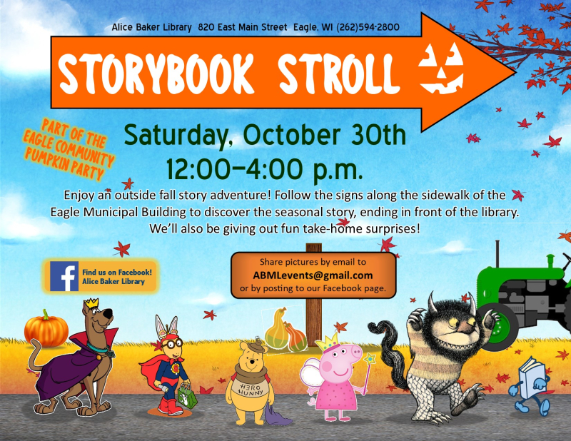 Storybook Stroll - October 2021